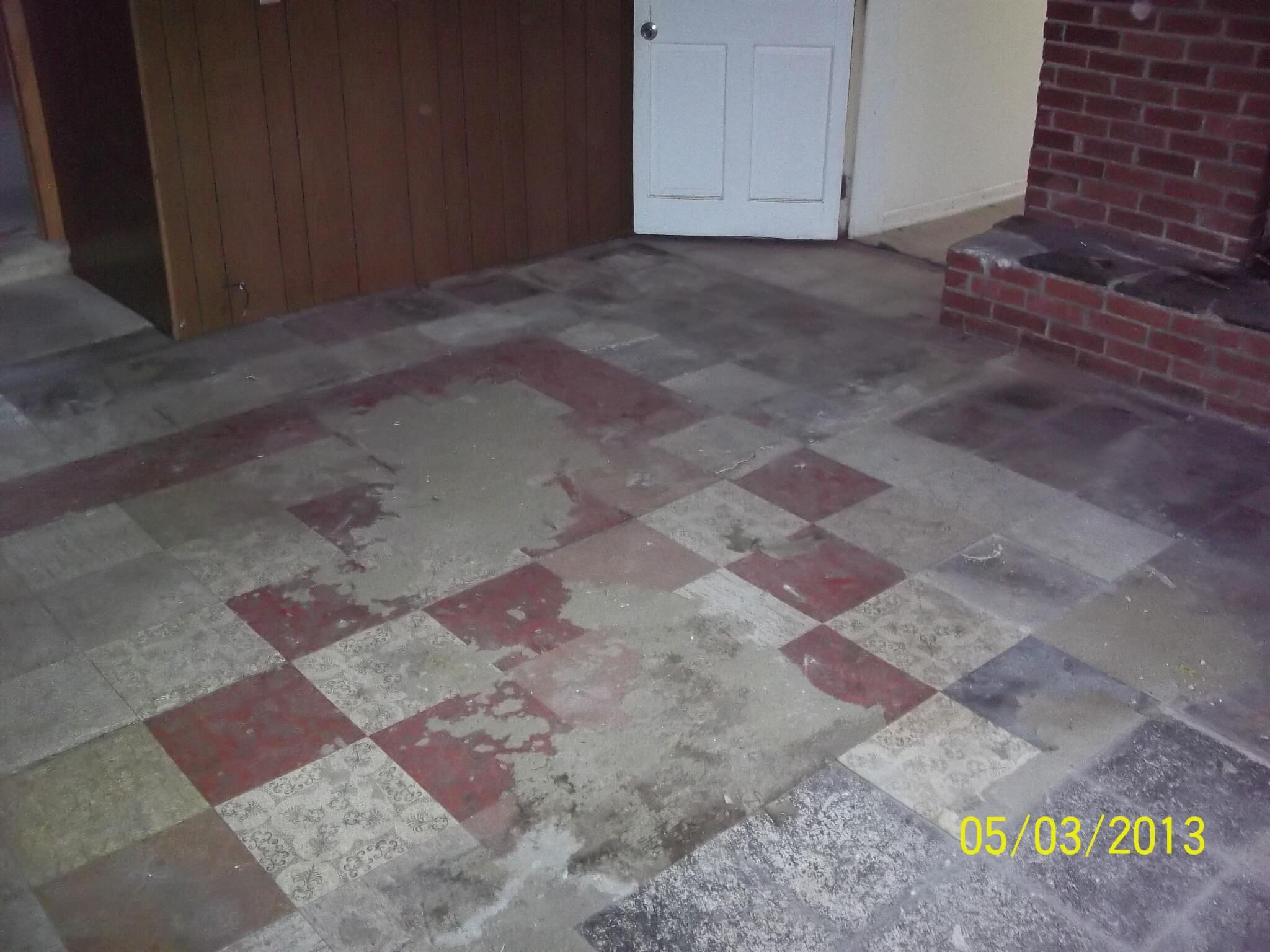 Asbestos baxter group inc asbestos floor tile dailygadgetfo Images