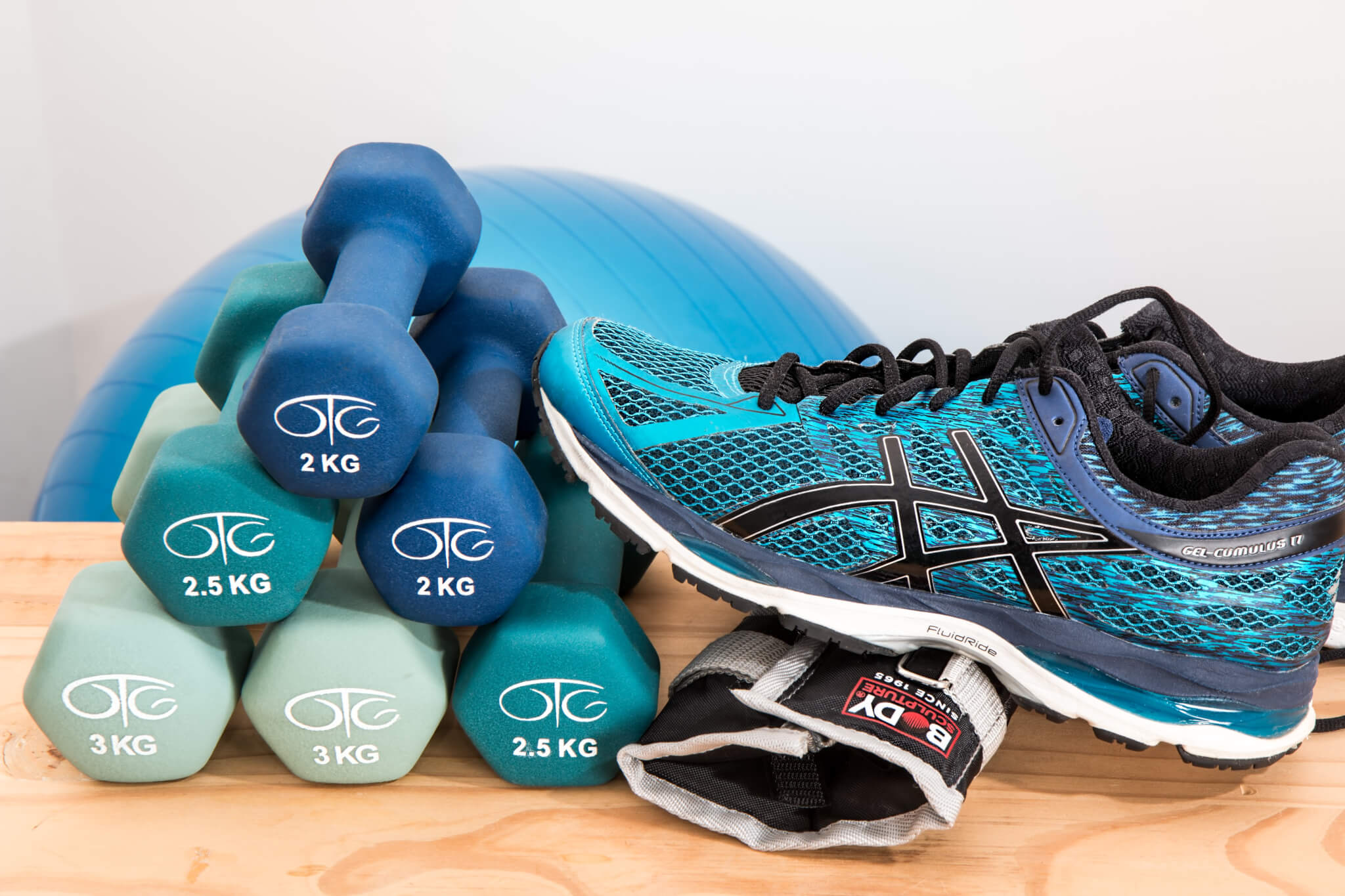 Fitness is a big part of staying healthy.