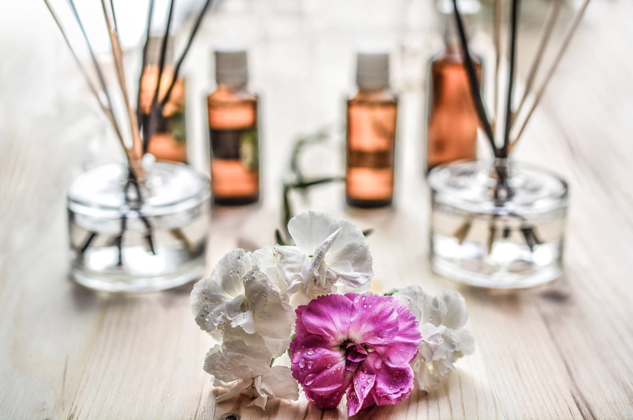Essential oils can relieve stress.